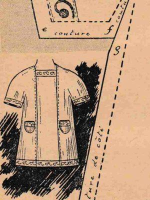 BLEUETTE – Robe d'été 1911 (226)