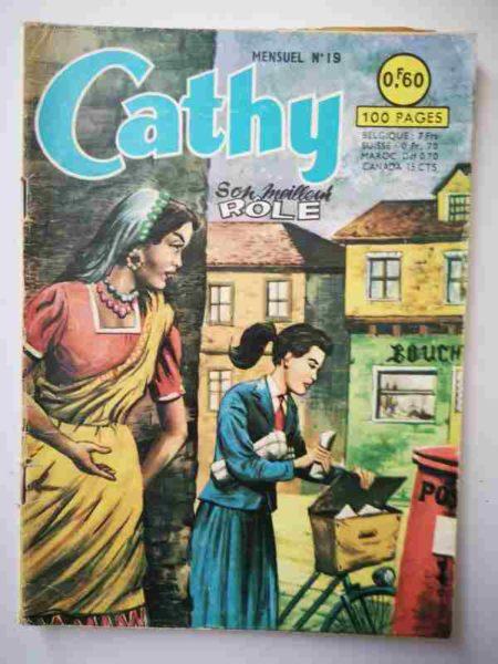 BD CATHY N°19 Son meilleur rôle - ARTIMA 1964
