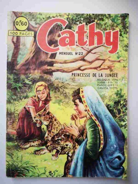 BD CATHY N°22 Princesse de la jungle - ARTIMA 1964
