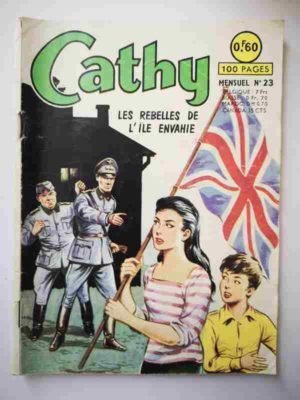 CATHY N°23 Les Rebelles de l'île envahie – ARTIMA 1964