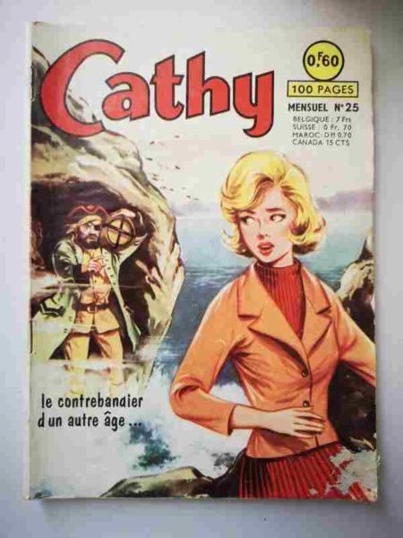 BD CATHY N°25 Le contrebandier d'un autre âge - ARTIMA 1964