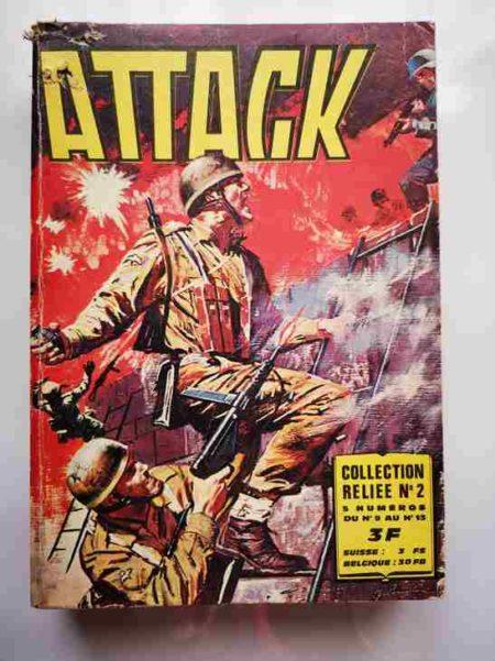 ATTACK (2E SERIE) ALBUM 2 (N°9-10-11-12-13) - IMPERIA 1912