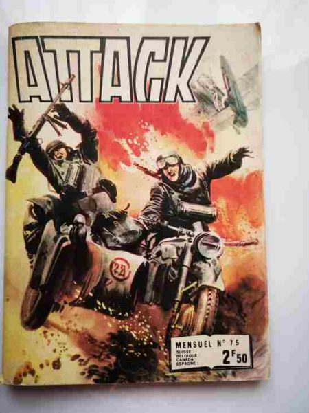 ATTACK (2E SERIE) N°75 Le légionnaire - IMPERIA 1977