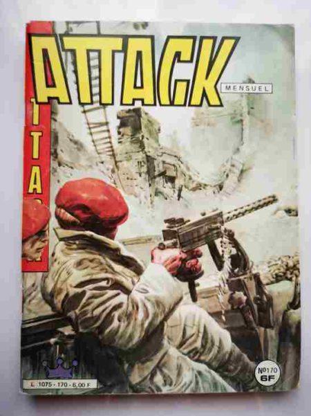 BD ATTACK (2E SERIE) N°170 - L'homme qui était mort - IMPERIA 1985