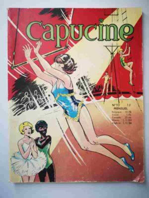 CAPUCINE (Danseuse étoile) N°10 Au secours de Valérie – SFPI 1966