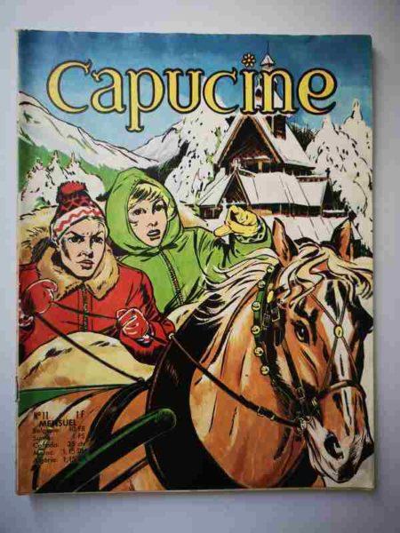 BD CAPUCINE (Danseuse étoile) N°11 Le bonheur d'Ingrid - SFPI 1966