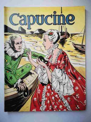 CAPUCINE (Danseuse étoile) N°12 Au Brésil- SFPI 1966
