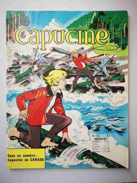 BD CAPUCINE (Danseuse étoile) N°14 Aventures au Canada - SFPI 1966