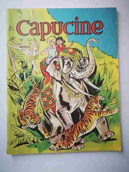 BD CAPUCINE (Danseuse étoile) N°6 Le maharaja de Yali - SFPI 1966