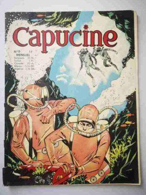 CAPUCINE (Danseuse étoile) N°9 Le trésor des Caraïbes – SFPI 1966