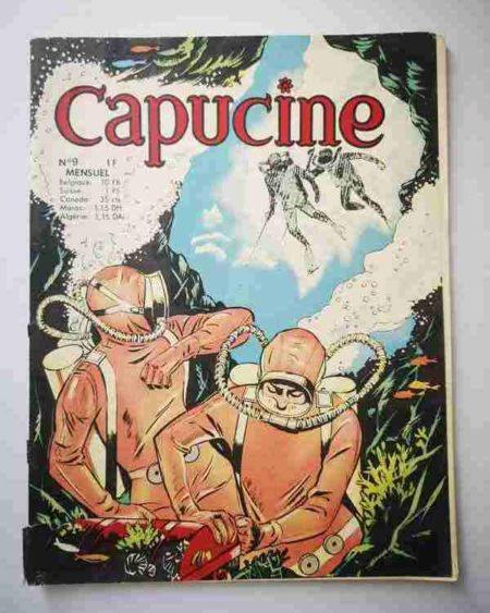 BD CAPUCINE (Danseuse étoile) N°9 Le trésor des Caraïbes - SFPI 1966