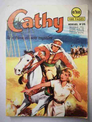 CATHY N°26 – Le sphinx et son mystère – ARTIMA 1964