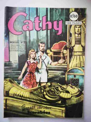 CATHY N°31 – Le message des deux scarabées – ARTIMA 1965