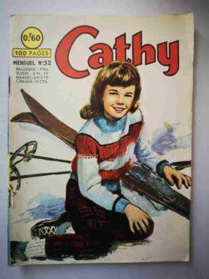 CATHY N°32 – Le skieur mystérieux – ARTIMA 1965