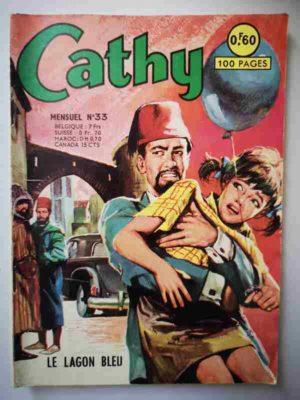 CATHY N°33 – Le lagon bleu – ARTIMA 1965