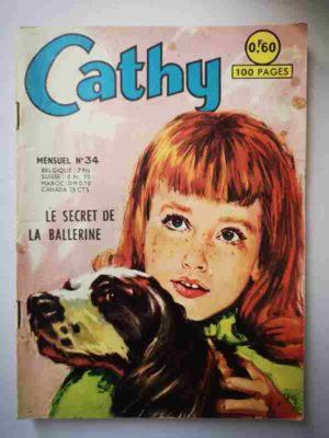 CATHY N°34 – Le secret de la ballerine – ARTIMA 1965