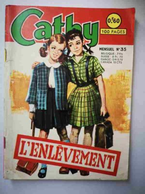 CATHY N°35 – L'enlèvement – ARTIMA 1965