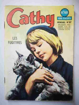 CATHY N°37 – Les fugitives – ARTIMA 1965