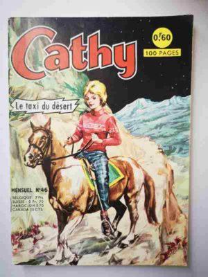 CATHY N°46 – Le taxi du désert – ARTIMA 1966