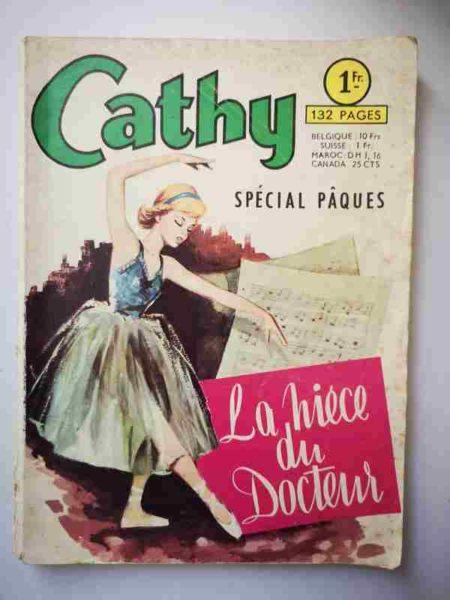 BD CATHY (spécial) La nièce du docteur - ARTIMA 1965