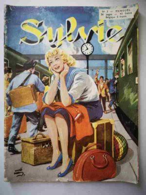 SYLVIE (1e série) N°3 Dany se destine à l'art dramatique – Artima 1954