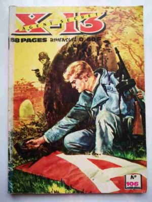 X13 AGENT SECRET N°106 – Tam-tams dans la jungle – IMPERIA 1965