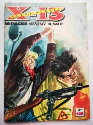 X13 AGENT SECRET N°185 – Fleuve en tumulte – IMPERIA 1968