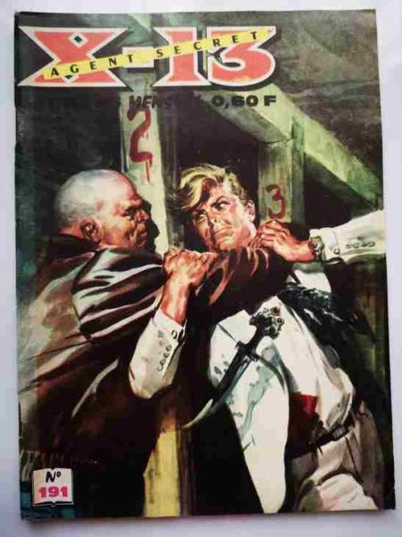 BD X13 AGENT SECRET N°191 - Mains innocentes - IMPERIA 1968