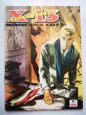 X13 AGENT SECRET N°194 – Opération-clef – IMPERIA 1968