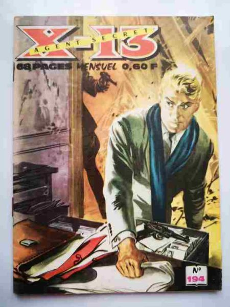 BD X13 AGENT SECRET N°194 - Opération-clef - IMPERIA 1968