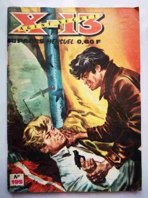 X13 AGENT SECRET N°195 – Chasse à l'homme – IMPERIA 1968