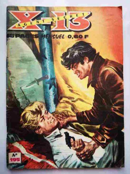 BD X13 AGENT SECRET N°195 - Chasse à l'homme - IMPERIA 1968