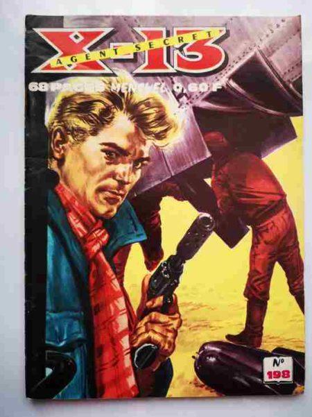 BD X13 AGENT SECRET N°198 - Le guide - IMPERIA 1969
