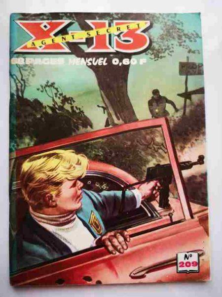 BD X13 AGENT SECRET N°209 - Aller et retour - IMPERIA 1969