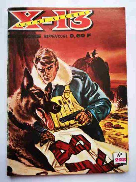 BD X13 AGENT SECRET N°228 - La montagne en alerte - IMPERIA 1970