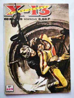 X13 AGENT SECRET N°229 – Il fallait y penser – IMPERIA 1970
