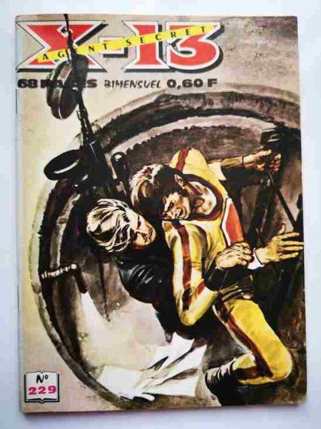 BD X13 AGENT SECRET N°229 - Il fallait y penser - IMPERIA 1970
