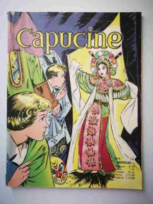 CAPUCINE (Danseuse étoile) N°8 Le Bouddha mystérieux – SFPI 1966