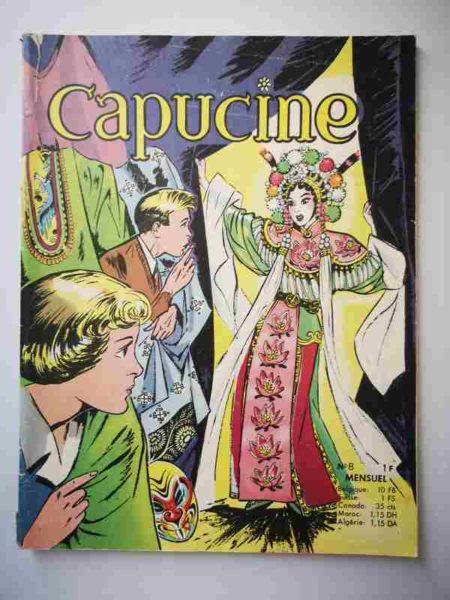 CAPUCINE (Danseuse étoile) N°8 Le Bouddha mystérieux - SFPI 1966