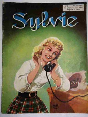 SYLVIE (1e série) N°2 Dany se destine à l'art dramatique – Artima 1954