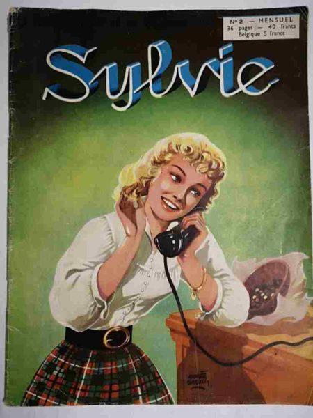 SYLVIE (1e série) N°2 Dany se destine à l'art dramatique - Artima 1954
